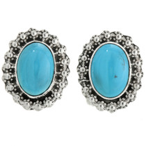 Turquoise Sterling Post Earrings 31753