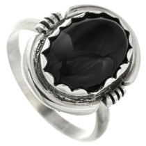 Onyx Silver Ring 31763