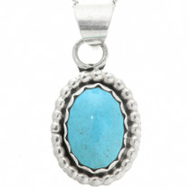Turquoise Silver Pendant 31764