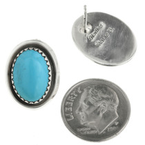 Navajo Silver Post Earrings 31769