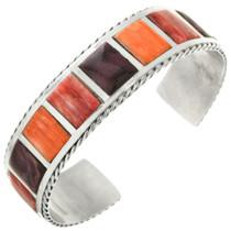 Vintage Inlaid Spiny Oyster Bracelet 31780