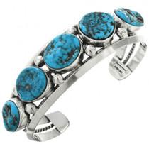 Turquoise Silver Navajo Bracelet 31791