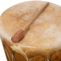 Double Side Rawhide Drum 31813