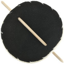 Ponytail Holder Wooden Stick Barrette 31814