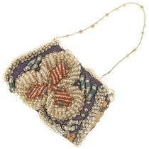 Small Antique Arapaho Beaded Ladies Purse 31849