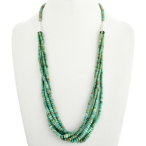 Natural Turquoise Beaded Necklace 31854
