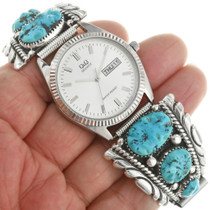 Zuni Turquoise Mens Watch 31864