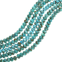 Southwest Turquoise Rondelle Beads 31907
