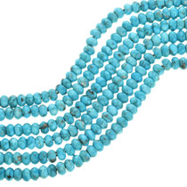 Arizona Turquoise Rondelle Beads 31909