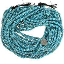 Spiderweb Turquoise Beads 31919
