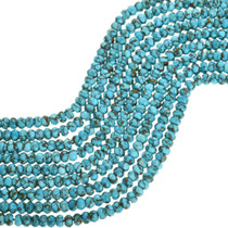 Genuine Campitos Turquoise Rondelle Beads 31919