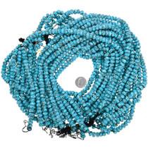Campitos Turquoise Rondelle Beads Pyrite Matrix 31920