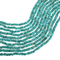 Natural Turquoise Heishi Beads 31921