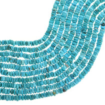 Natural Turquoise Heishi Beads 31922
