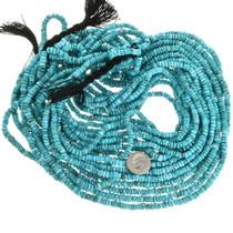 Turquoise Heishi Santo Domingo Style Beads 31924