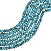 Campitos Turquoise Rondelle Beads 31927