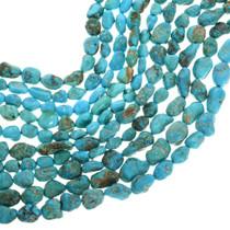 Kingman Turquoise Nugget Beads 31933