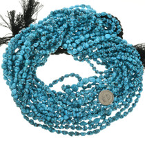 Kingman Natural Turquoise Nugget Beads 31936