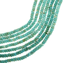 Natural Kingman Green Turquoise Beads 31940