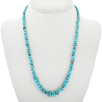 Natural Kingman Turquoise Necklace 31887