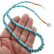 Navajo Turquoise Heishi Necklace 31887