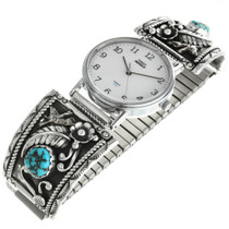 Vintage Turquoise Nugget Watch 31892