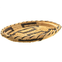 Papago Basket Tray Devils Claw Pattern 31895