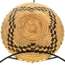 Hand Woven Papago Tohono O'odham Star Basket 31898