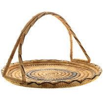 Vintage Papago Tribe Basket Weaving 32000