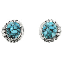 Spiderweb Turquoise Earrings 32013