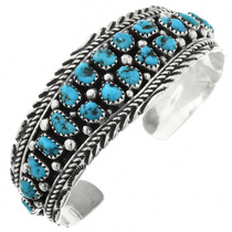 Navajo Turquoise Bracelet 32014