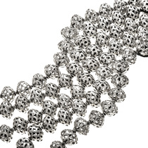 Silver Filigree Bali Beads 30898