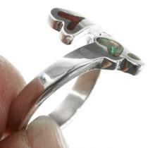 Navajo Silver Paw Ring 32027