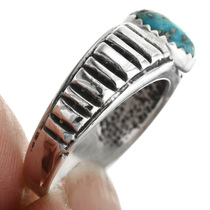 Notched Sterling Silver Ring 32030