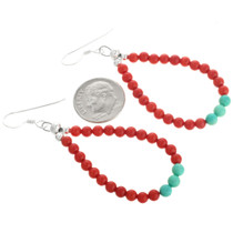 Navajo Beaded Earrings 32033