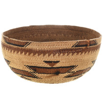 Old Hupa Indian Basket 32040