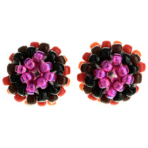 Navajo Seed Bead Post Earrings 32042