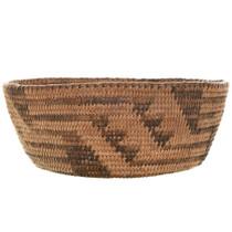 Pima Tribe Hand Woven Basket 32045