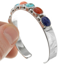 Turquoise Lapis Onyx Bracelet 32047