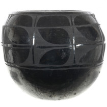 Heavy Blackware Native American Vase 32068