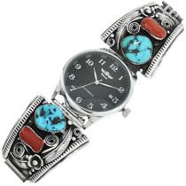 Old Pawn Zuni Native American Watch 32075