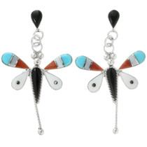 Zuni Dragonfly Earrings 32081