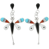 Zuni Dragonfly Earrings 32081