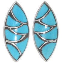 Zuni Turquoise Post Earrings 32085
