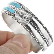 Turquoise Inlay Zuni Tribe Bracelet 32093