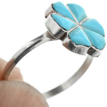Zuni Indian Turquoise Ring 32099