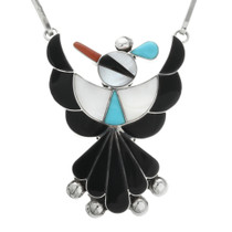 Native American Thunderbird Zuni Necklace 32100