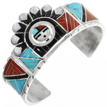 Zuni Inlay Bracelet 32103