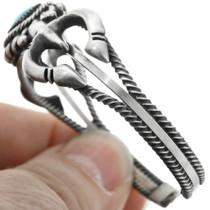 Sterling Silver Santa Fe Style Cuff 32120