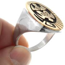 14K Gold Overlay Tortoise Ring 32124